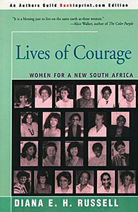Lives of Courage, Women for a New South Africa book cover